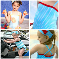 Peek-A Boo La Jolla Swimsuit Digital Pattern ( Size 3 mo -12 years )