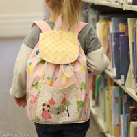 Peek-A Boo Lil-Adventurer Backpack Digital Pattern ( Size one size )