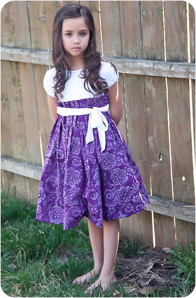 Peek-a-Boo Pattern Shop Natalie Dress Downloadable Pattern Natalie Dress