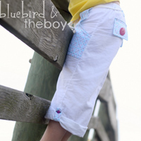 Peek-A Boo Pier 49 Convertible Pants Digital Pattern ( Size 3 mo -8 years )