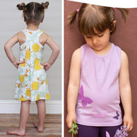 Peek-a-Boo Patterns Rio Racerback Tank & Dress Digital Pattern