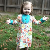 Peek-A Boo Sabrina Shirttail Dress Digital Pattern ( Size 3 mo -8 years )