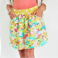 Peek-a-Boo Patterns Skyline Skort Digital Pattern