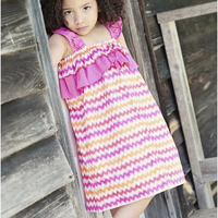 Peek-A Boo Stella Sun Dress Digital Pattern ( Size 3 mo -8 years )