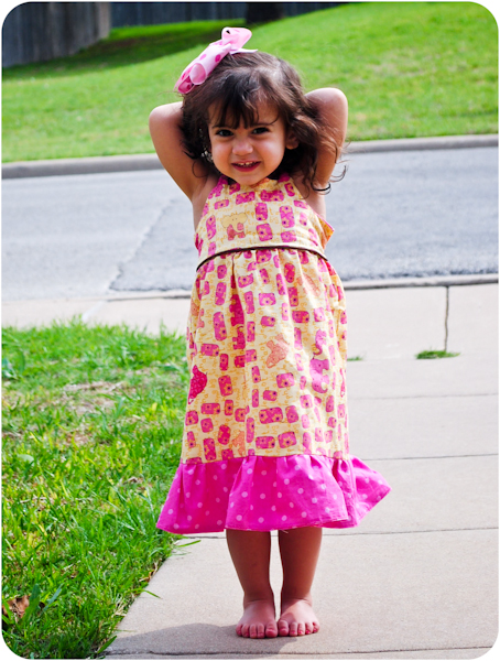 Peek-a-Boo Pattern Shop Susie Sun Dress Downloadable Pattern Susie Sun Dress