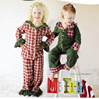 Peek-A Boo Sweet Dreams Buttom-Up PJ set Digital Pattern ( Size 3 mo -12 years )