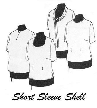 Petite Plus Patterns Short Sleeve Shell 101