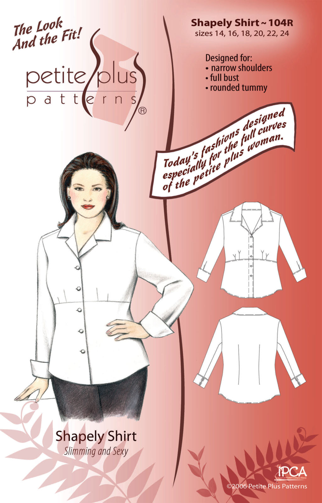 Petite Plus Patterns Shapely Shirt 104