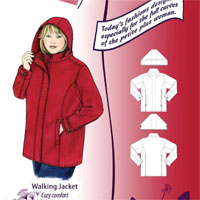 Petite Plus Patterns Walking Jacket