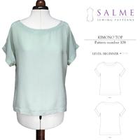 Salme Kimono Top Digital Pattern