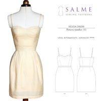 Salme Silvia Dress Digital Pattern