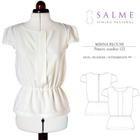 Salme Minna Blouse Digital Pattern
