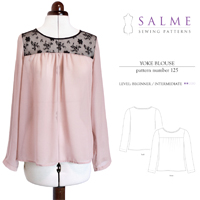 Salme Yoke Blouse Digital Pattern
