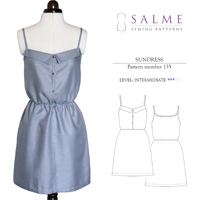 Salme Sundress Digital Pattern
