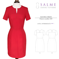 Salme Sandra Dress Digital Pattern