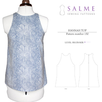 Salme Hannah Top Digital Pattern