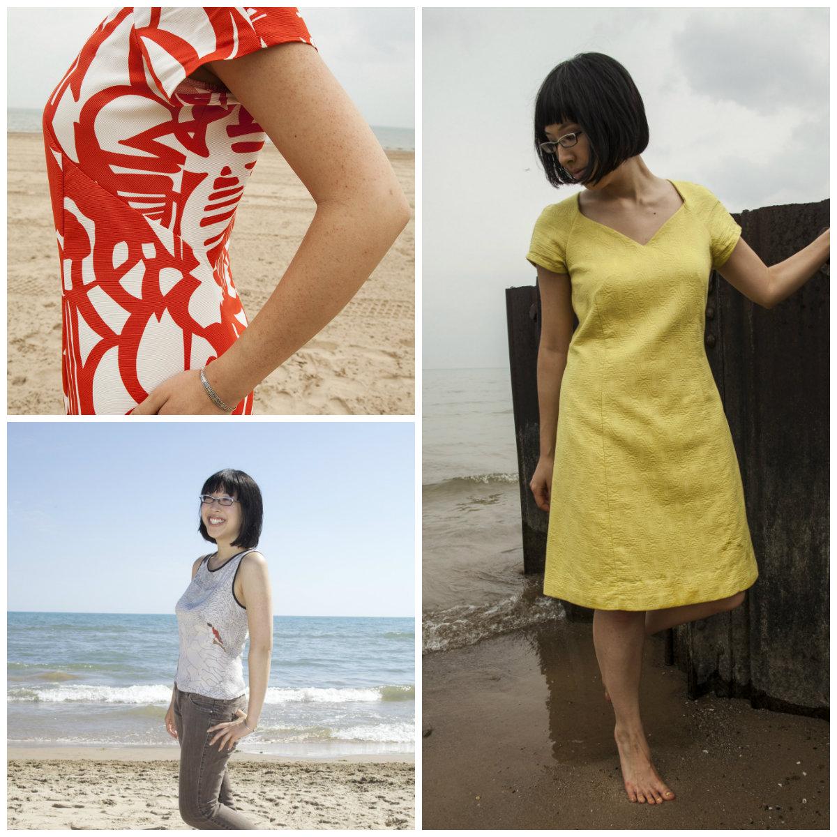 Seamster Patterns Dandelion dress & top Downloadable Pattern 1401