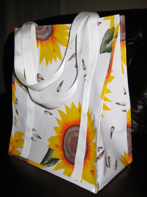 Self Drafted Pattern Gusseted Grocery Bag 21-1000