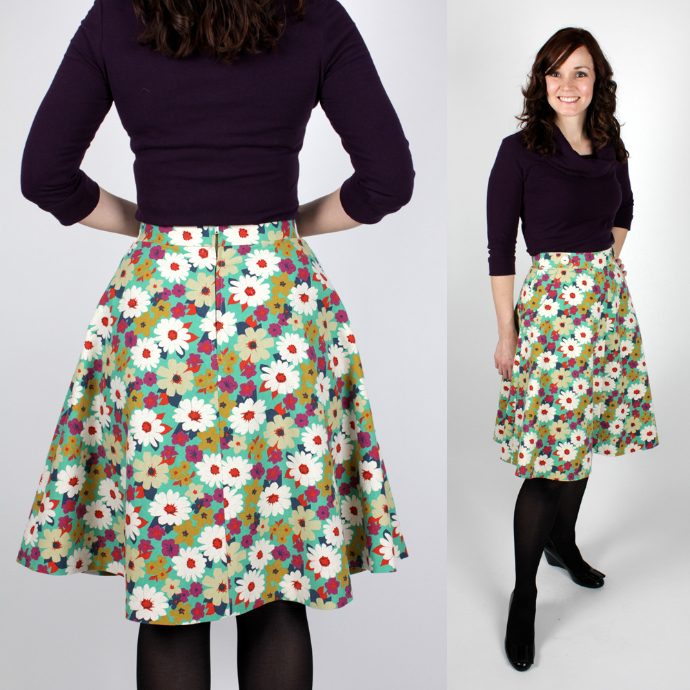 Sewaholic Patterns Hollyburn Skirt Pattern