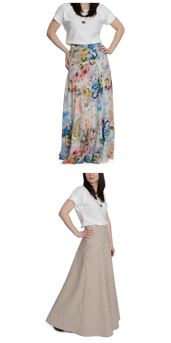 Sewaholic Patterns Gabriola Skirt 1401