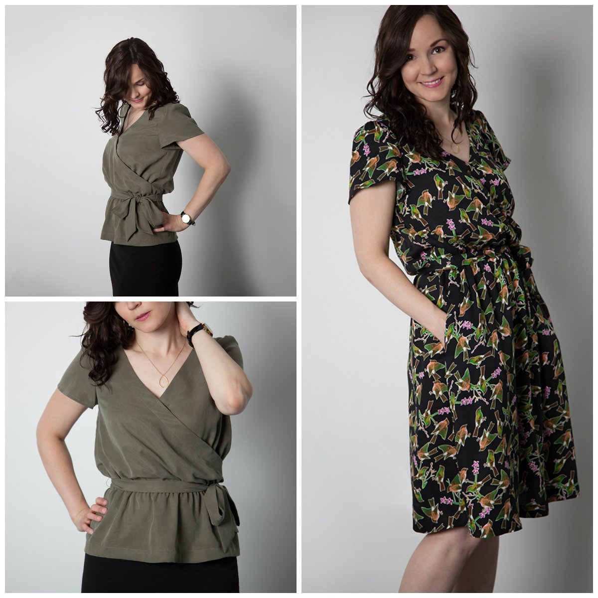 Sewaholic Patterns Yaletown Dress & Blouse 1403