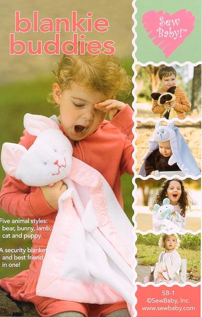 Sew Baby SewBaby Blankie Buddies Pattern 1