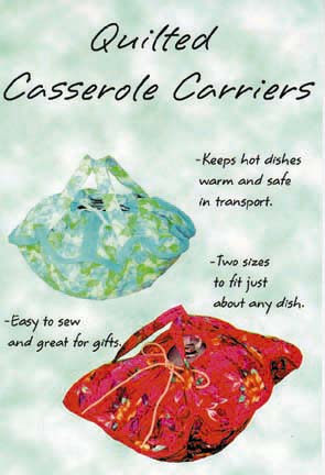 Sew Baby SewBaby Casserole Carrier Pattern 15