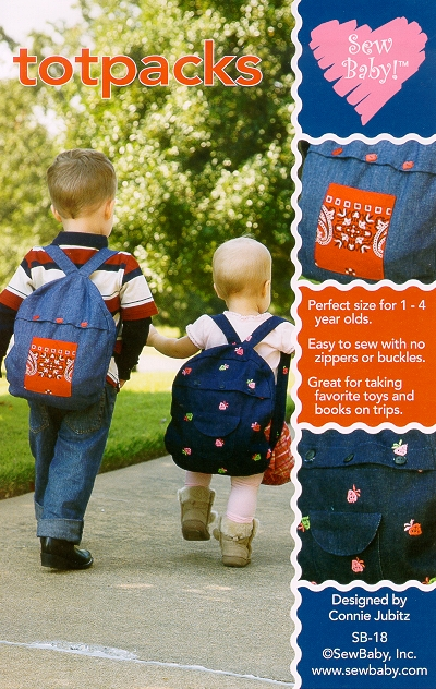 SewBaby Totpacks Pattern