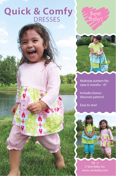 Sew Baby SewBaby Quick and Comfy Dresses Pattern 2