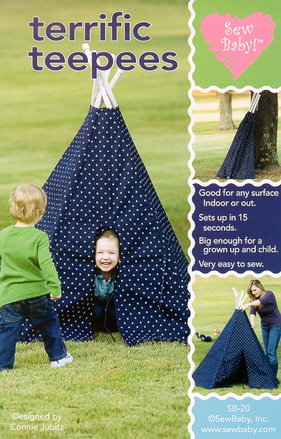 SewBaby Terrific Teepees Pattern
