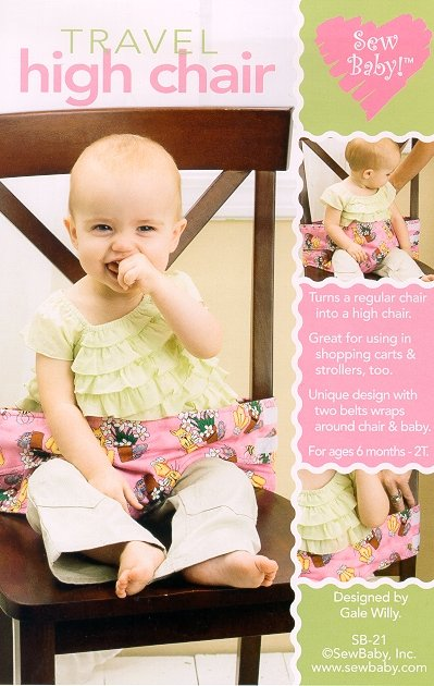 SewBaby Travel High Chair Pattern