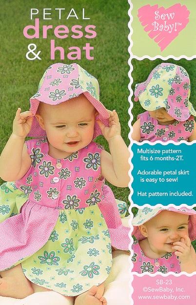 Sew Baby SewBaby Petal Dress Pattern 23