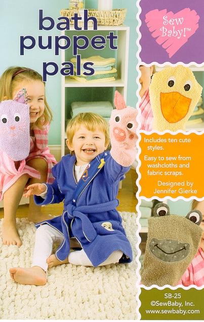 SewBaby Bath Puppet Pals Pattern