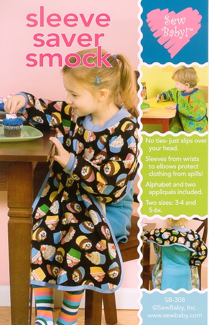 SewBaby Sleeve Saver Smock Pattern
