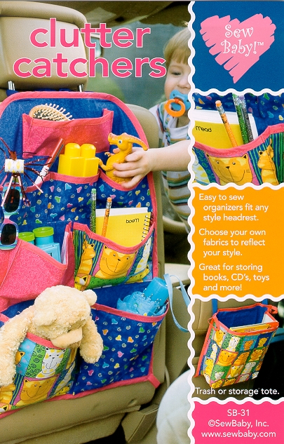 Sew Baby SewBaby Clutter Catchers Pattern 31