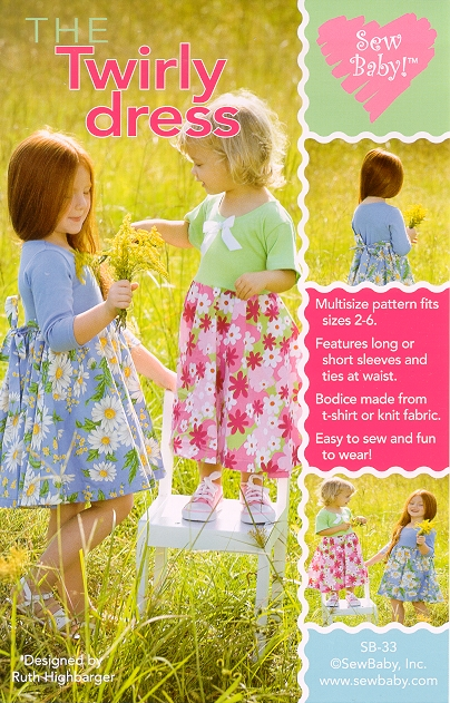 Sew Baby SewBaby The Twirly Dress Pattern 33