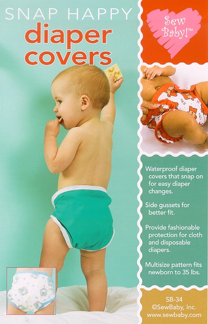 Sew Baby SewBaby Snap Happy Diaper Covers Pattern 34