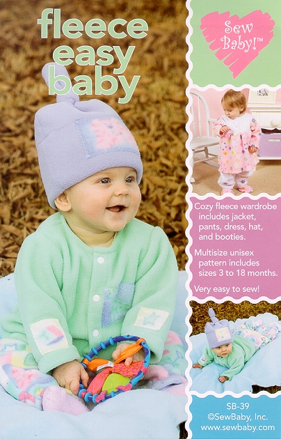 SewBaby Fleece-Easy Baby Wardrobe Pattern