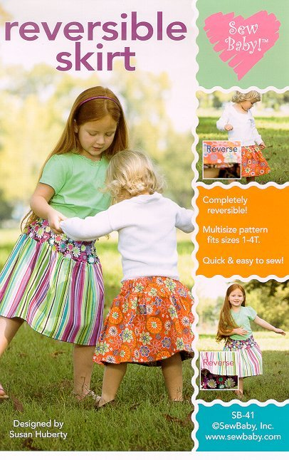 SewBaby Reversible Skirt Pattern