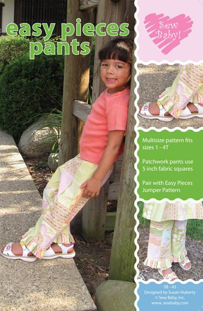 SewBaby Easy Pieces Pants Pattern
