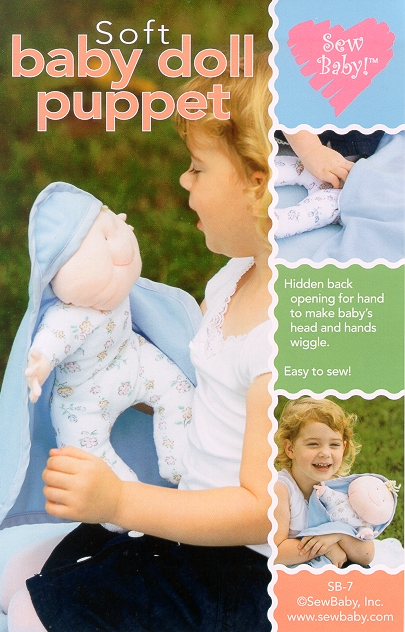 SewBaby  Baby Doll Puppet  Pattern