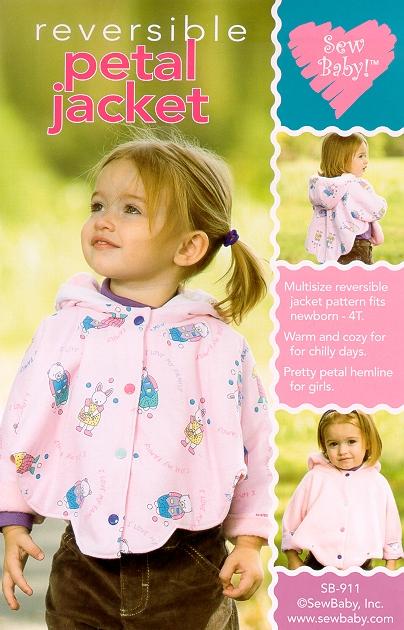 Sew Baby SewBaby Petal Jacket Pattern 911