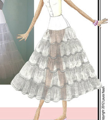 Sew Chic Pretty Petticoat Pattern (ln1208)