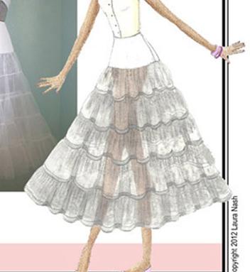 Sew Chic Pretty Petticoat Pattern (ln1208)