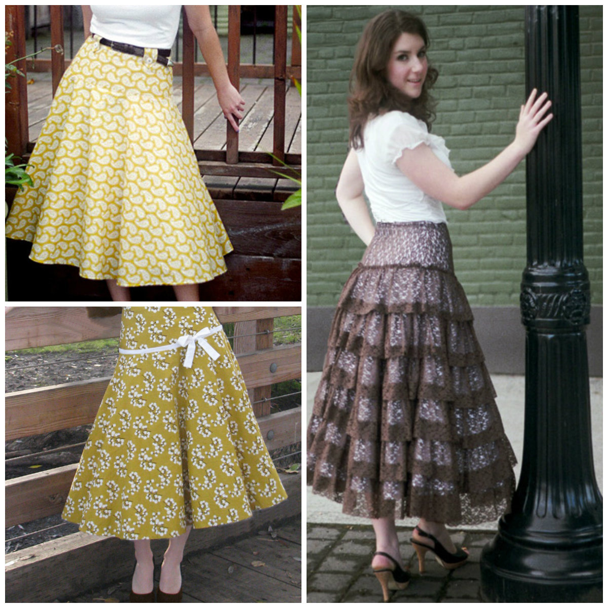 Sew Chic Spin Skirt ln1209
