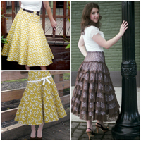 Sew Chic Spin Skirt Pattern (ln1209)