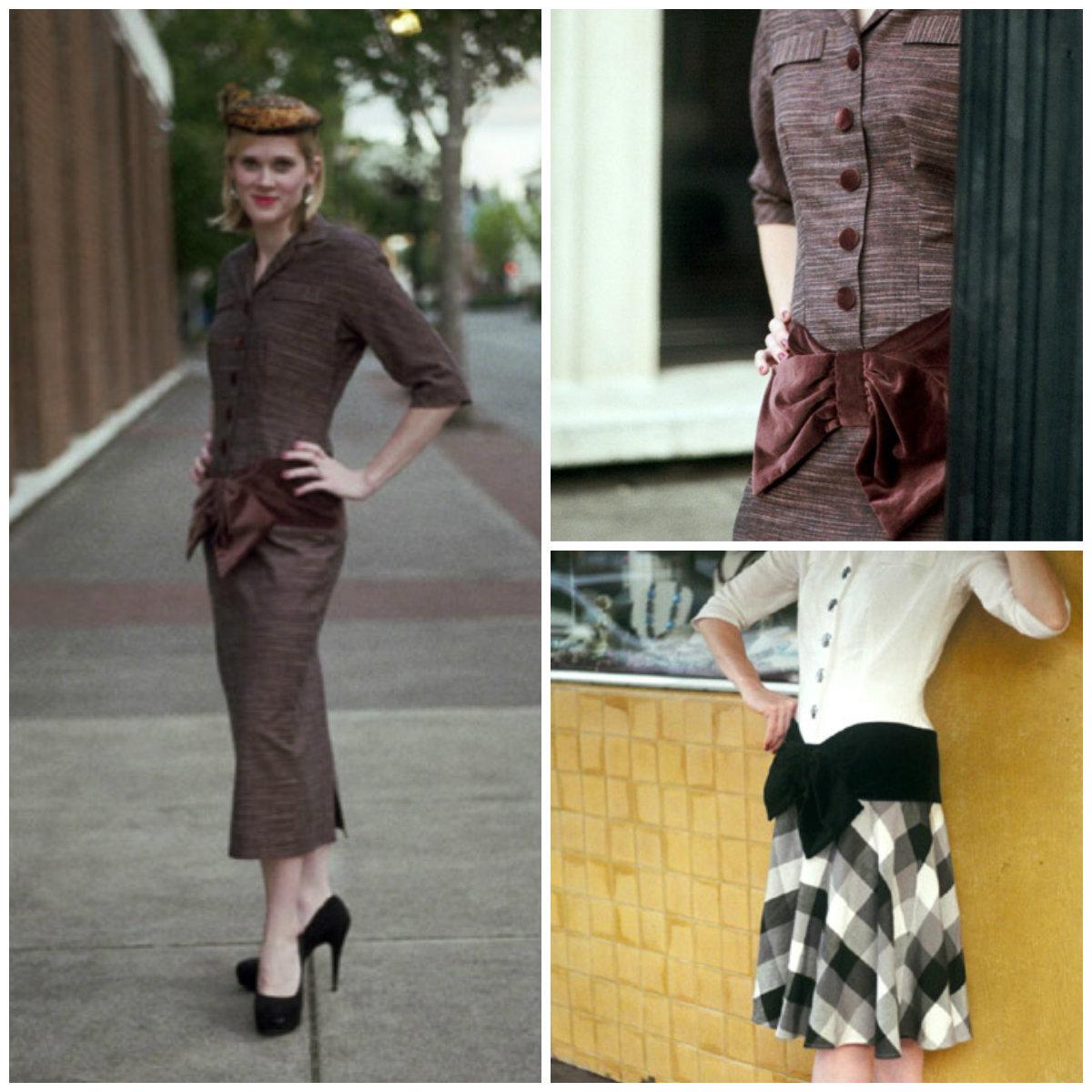 Sew Chic MyrtleWood Dress ln7401
