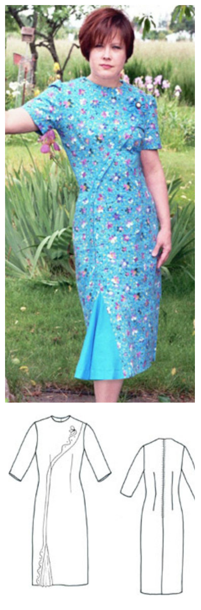 Sew Chic Pendleton Dress ln8002
