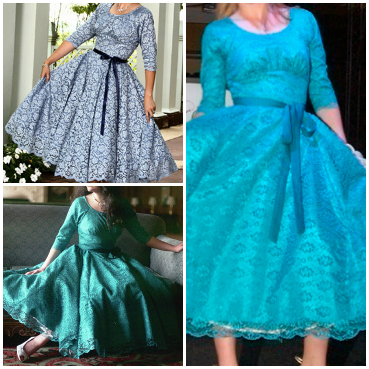 Sew Chic Southern Belle Dress ln8503