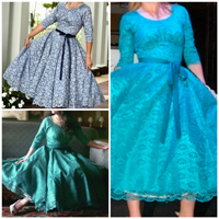 Sew Chic Southern Belle Dress Pattern (ln8503)